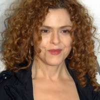 Bernadette Peters Medium Curly Hairstyle for women over 50s