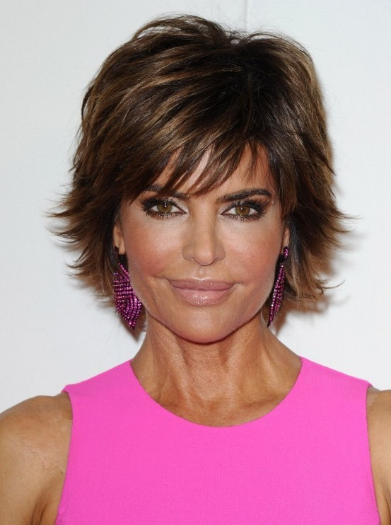 Best Layered Razor Cut from Lisa Rinna