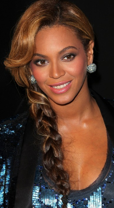 Beyonce Knowles Casual Long Braided Hairstyle - Hairstyles Weekly