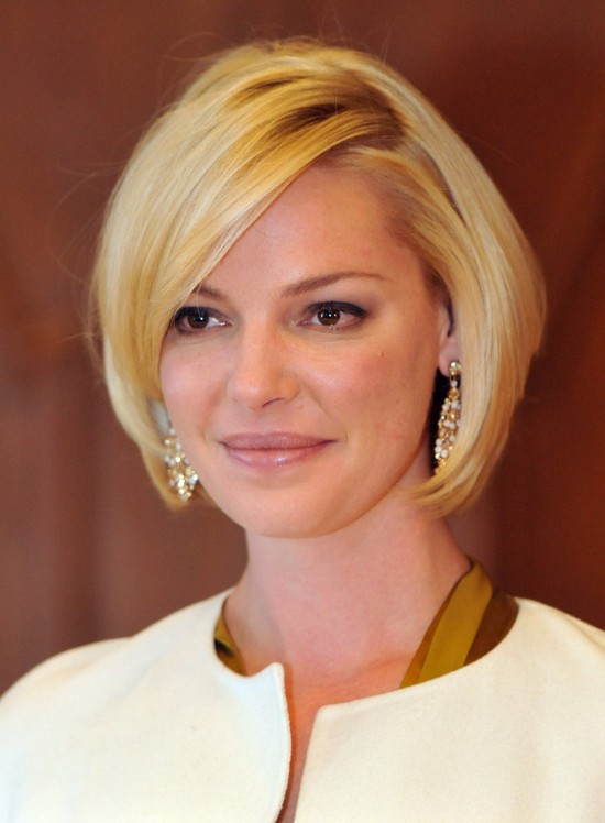 Bob Hairstyle From Katherine Heigl Hairstyles Weekly