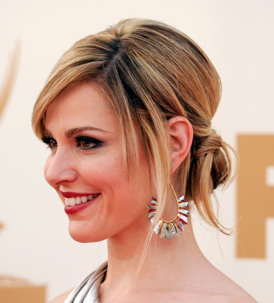 Surprising Bobby Pinned Updos Hairstyles Weekly Hairstyles For Women Draintrainus