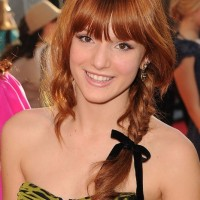 Celebrity Red Fishbone Braid - 2013 Popular Braided Hairstyles