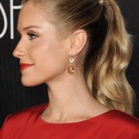 Celebrity Kristin Cavallari Ponytail Hairstyle
