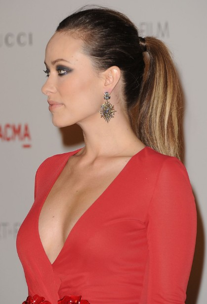Celebrity Ponytail Hairstyles - Long Sleek Hairstyles