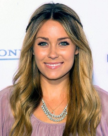 2013 Center Part Hairstyles for Women