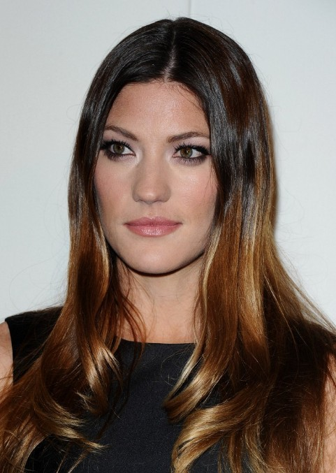 Jennifer Carpenter Center Part Ombre Hairstyles