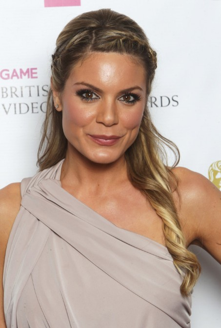 Charlotte Jackson Braided Half Up Half Down Hairstyles