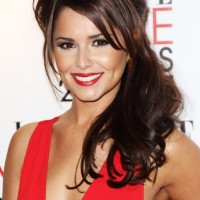 Long Half Up Half Down Hairstyles with Side Swept Bangs for Wedding