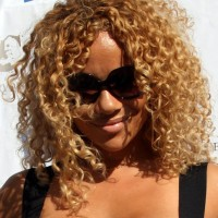 Christina Brave Williams medium curly hairstyle