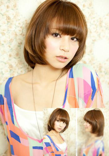 Cute Japanese bob hairstyles 2013