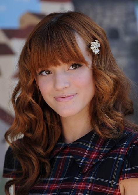 2013 Hairstyles for Girls: Cute Long Hairstyle from Bella Thorne