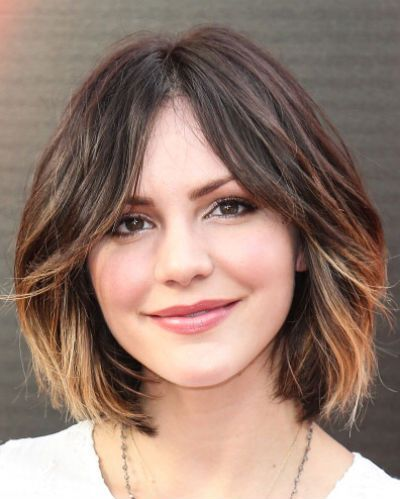 Cute Short Bob Ombre Hair for 2015
