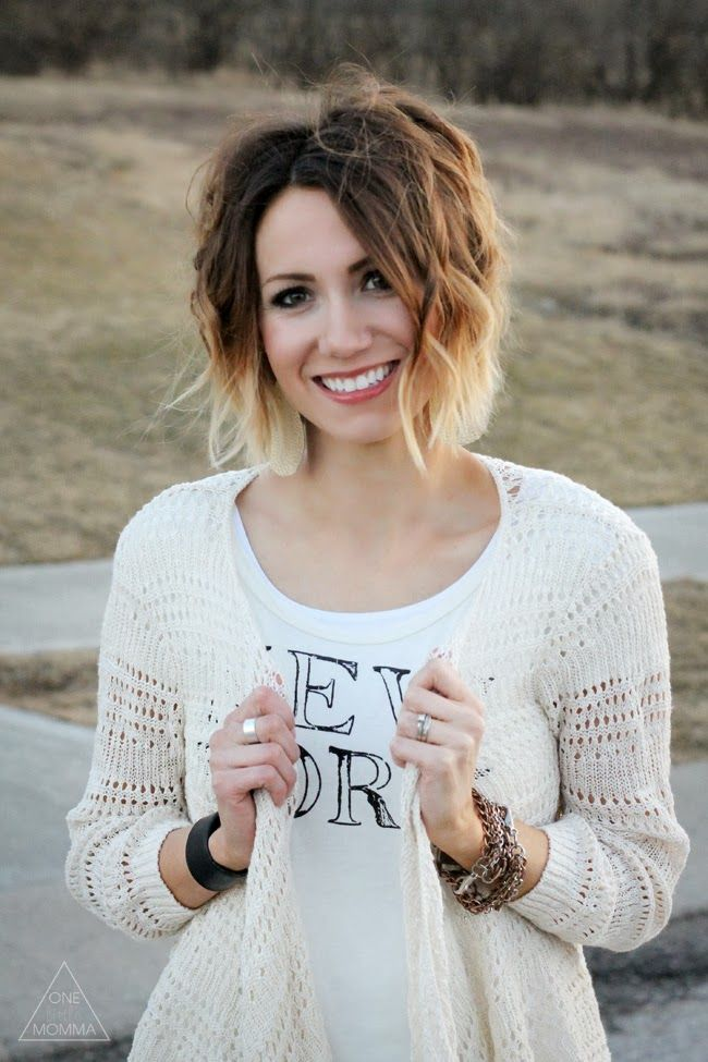 Cute Short Ombre Hair for Women Hairstyles Weekly