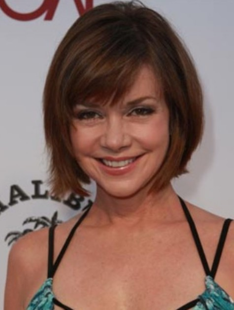 Sweet short bob hairstyle for women 2013