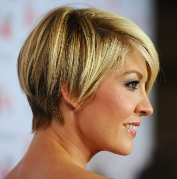 Short Haircut for 2014: Cute layered razor cut hairstyle