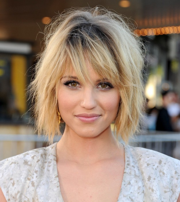 Short Layered Bob Hairstyles With Bangs: Graduated French Bob Hairstyle