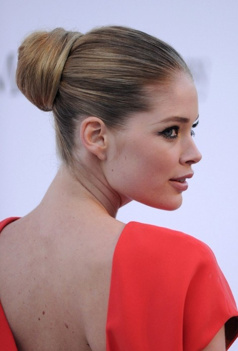 The Most Popular Sleek Ballerina Bun Updo Hairstyles 2013 - 2014