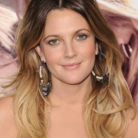 Drew Barrymore Long Ombre Hair 200x200 رنگ موی سال 2013
