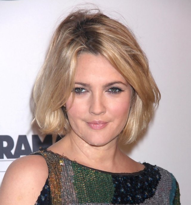 Cool Drew Barrymore Latest Short Hairstyle Hairstyles Weekly Short Hairstyles Gunalazisus