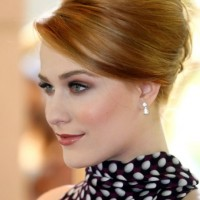 Evan Rachel Wood Sleek Classic French Twist