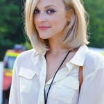 Fearne Cotton's shoulder length bob for Fall