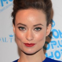 Formal French Twist Updo Hairstyle for Medium Length Hair