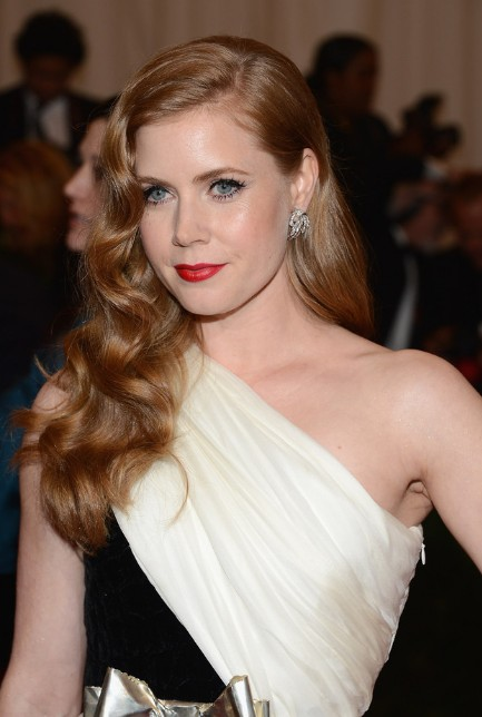 Amy Adams Formal Long Curly Hairstyles 2013 - 2014