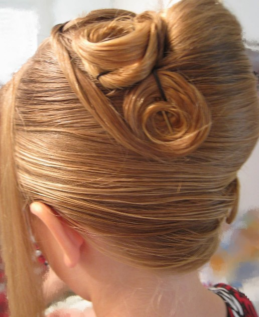 French Twist For Wedding Rose Twist Hairstyles Weekly