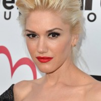 Celebrity Formal Updos: Gwen Stefani Updo Hairstyles for Mature Women