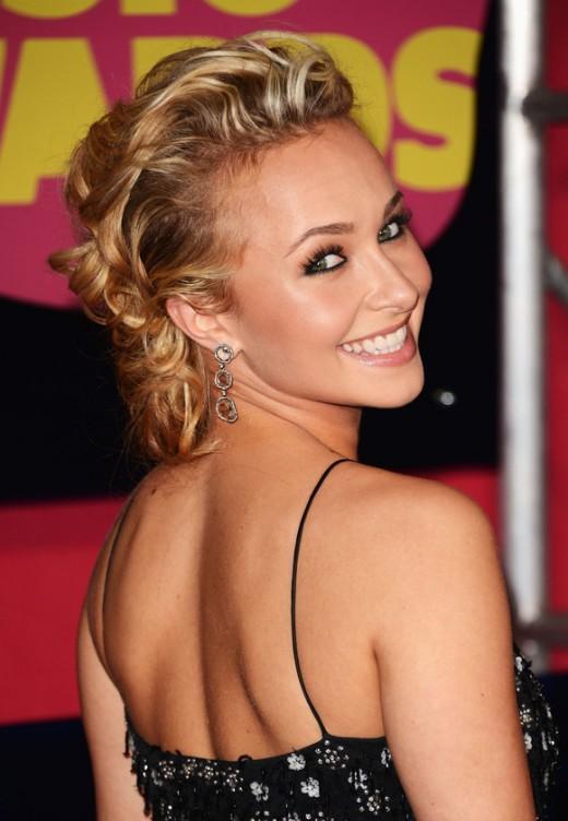 Marvelous Latest Celebrity Bobby Pinned Updo Hairstyles For Women Short Hairstyles Gunalazisus