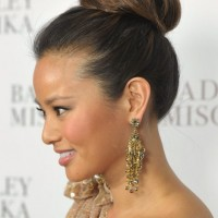 Sleek High Bun Updo Hairstyles 2013