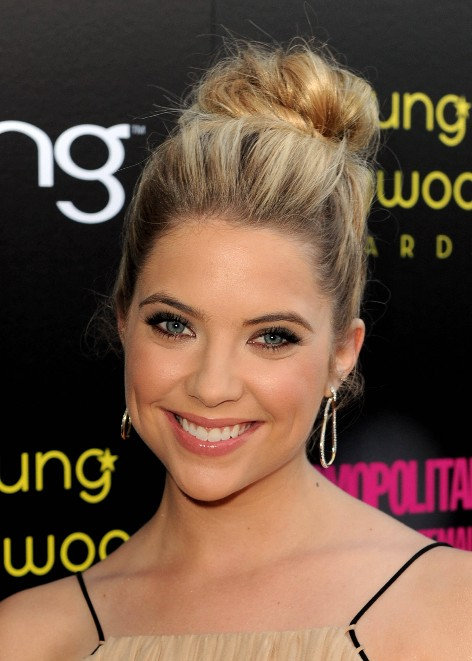 Homecoming Hairstyles for Long Hair: Bun Updo 2013