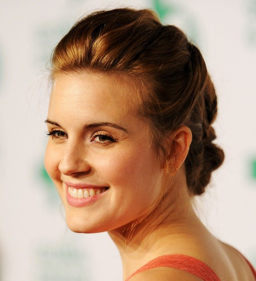 Magnificent Maggie Grace Intricate Braided Updo Hairstyle Hairstyles Weekly Short Hairstyles Gunalazisus