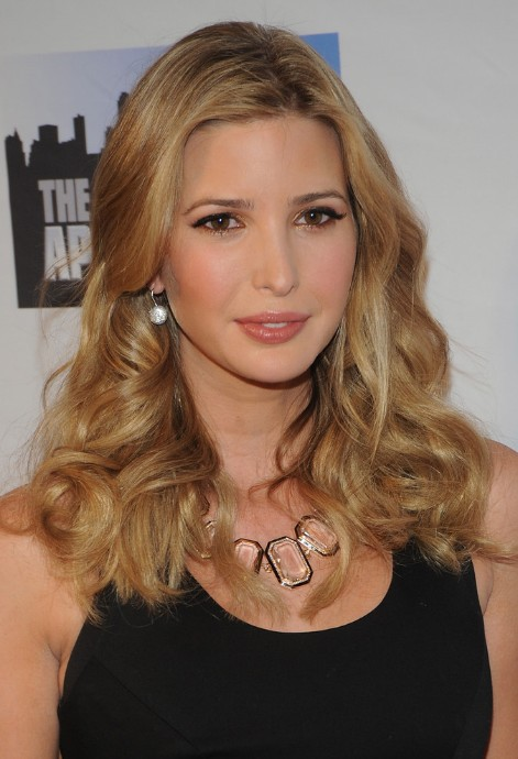 Ivanka Trump Layered Long Wavy Hairstyle | Hairstyles Weekly