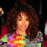 Jade Ewen Medium Curly Hairstyle