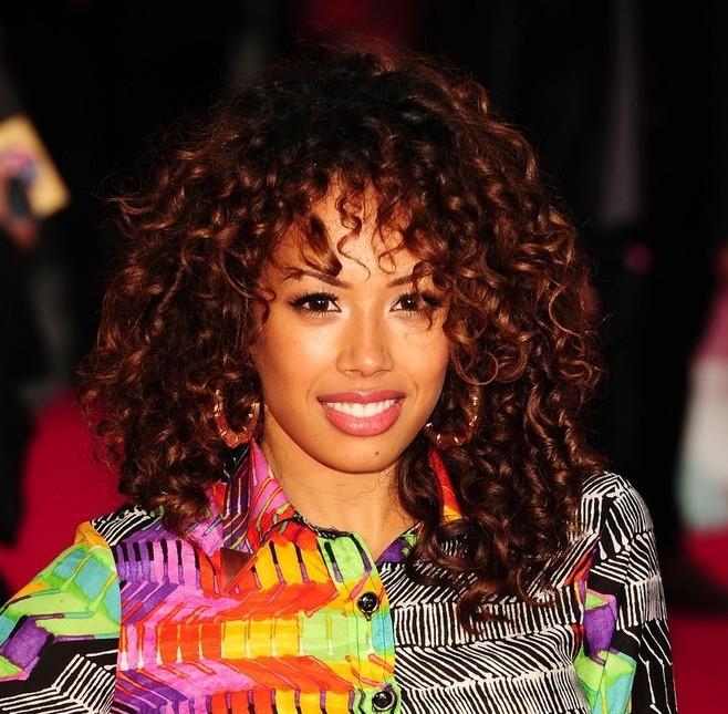Cool Jade Ewen Medium Curly Hairstyle Hairstyles Weekly Short Hairstyles For Black Women Fulllsitofus