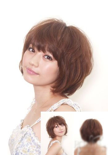 Japanese Short Bob Hairstyle