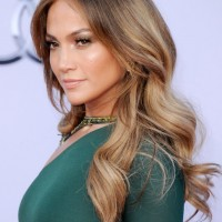 Jennifer Lopez Long Sleek Hairstyle 200x200 رنگ موی سال 2013