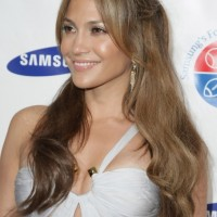 Jennifer Lopez Sexy Long Hairstyle 2013