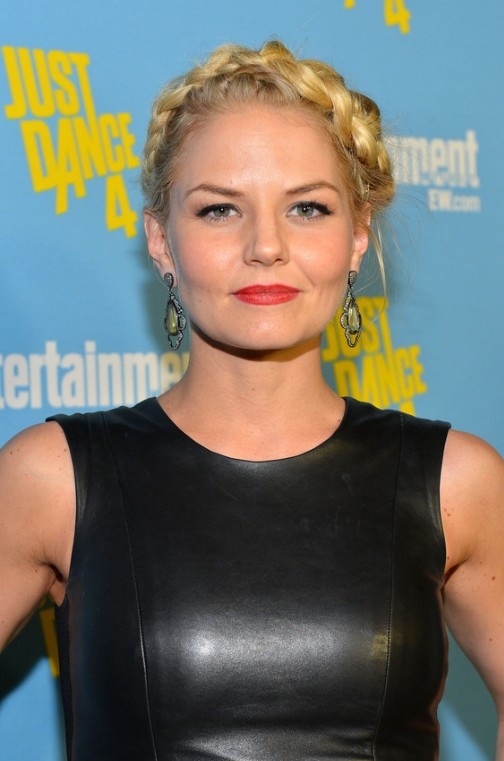 Jennifer Morrison French Braid Updos 2013