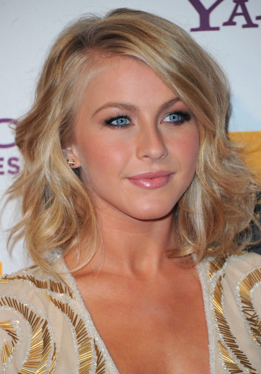 Fine Julianne Hough Medium Hairstyle With Waves Hairstyles Weekly Hairstyles For Men Maxibearus