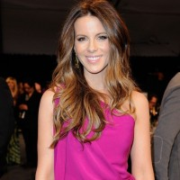 Kate Beckinsale Long Straight Hairstyle