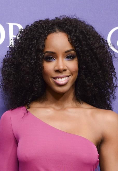 Strange Kelly Rowland Naturally Curly Hairstyle Black Curly Hairstyles Short Hairstyles Gunalazisus