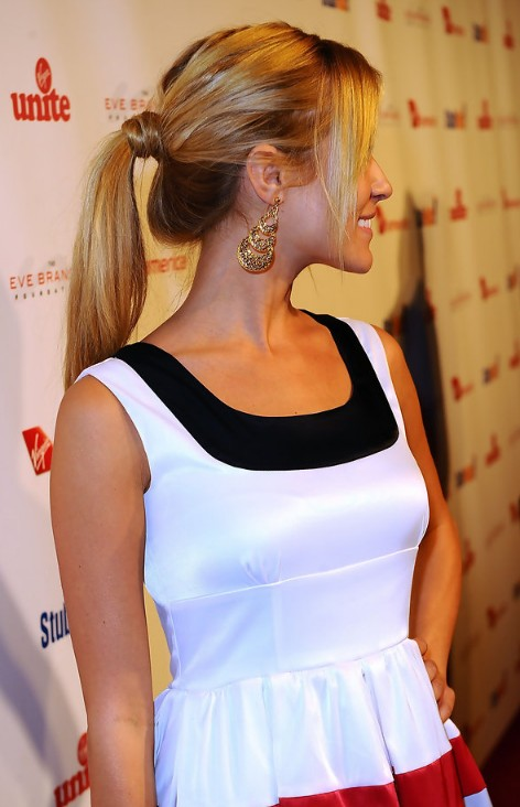 Kristin Cavallari Long Sleek Loose Ponytail