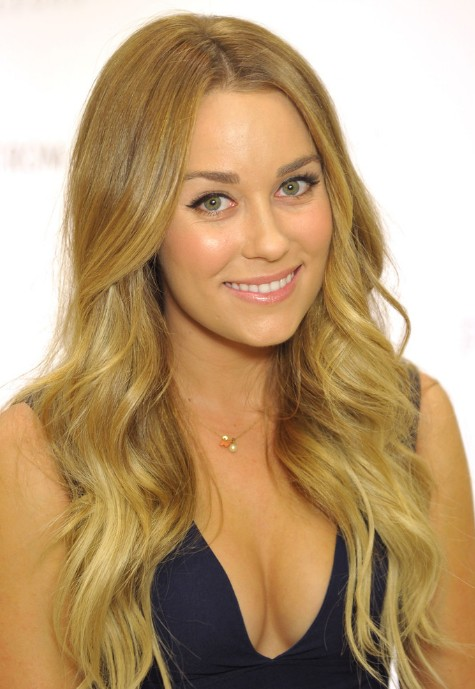 Lauren Conrad Long Blonde Wavy Hairstyle