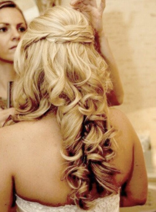 Layered Prom Hairstyles - Back View of Prom Hair Styles