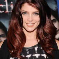 Hairstyles 2013 Layered Red Ombre Hair