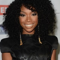 2013 Long Black Naturally Curly Hairstyles for Black Women