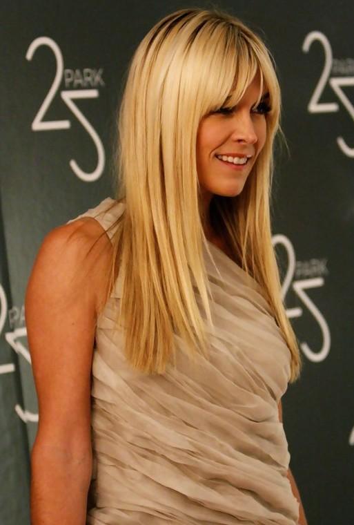 Pleasant Long Blonde Hair With Bangs Short Hairstyles Gunalazisus