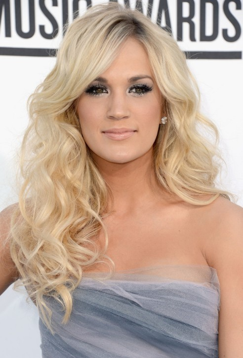 Long Curly Hairstyle with Side Bangs for 2013 | Hairstyles Weekly